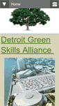 Mobile Preview of detroitgreenskills.org